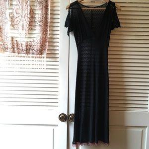 Betsey Johnson • Vintage Sheer Polka Dot Dress